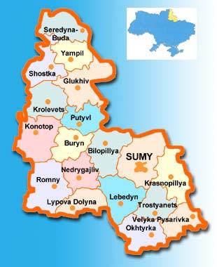 Sumy Oblast Description